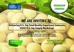 Delivering U.S. Soy Total Quality Experience  I N D O N E S I A USSEC U.S. Soy Supply Workshops