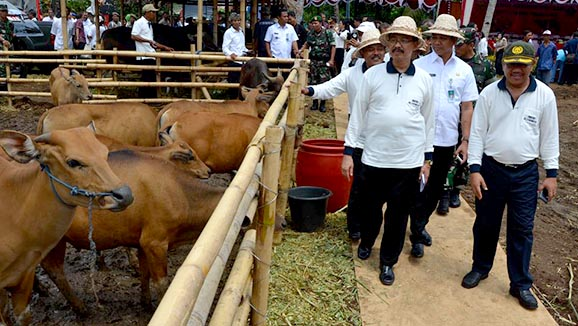 Bali Jadi Lokasi Awal Program UPSUS SIWAB