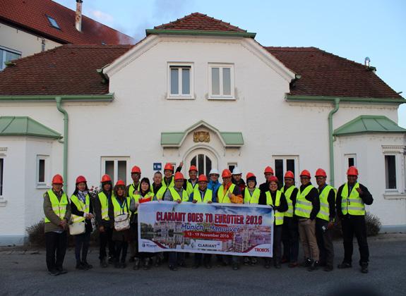 Pelanggan dan Mitra Bisnis Kunjungi Pabrik Clariant di Jerman